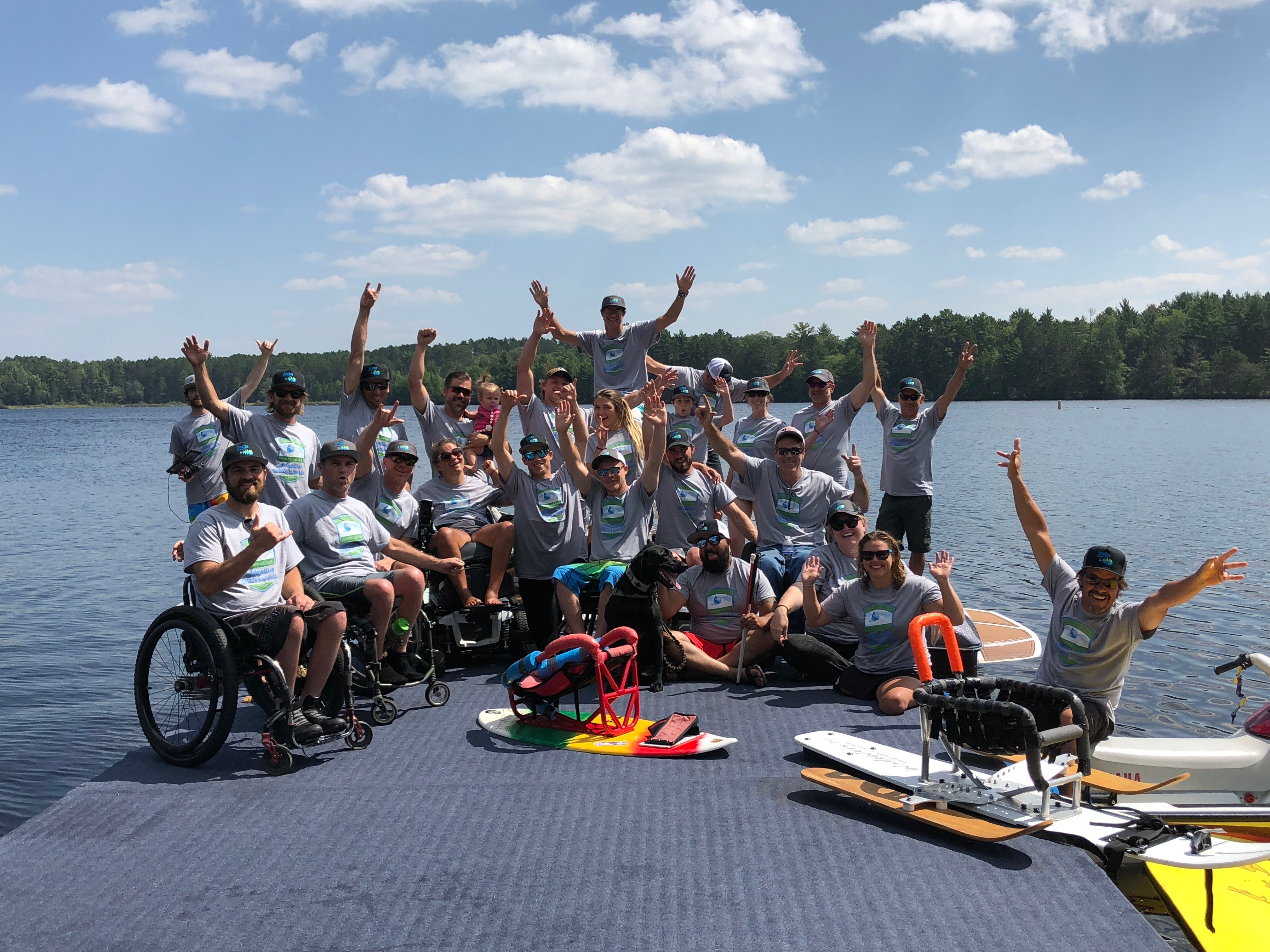 Adaptive Water Sports Camp Wisconsin